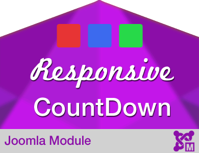 Responsive Countdown Module for Joomla