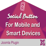 Social Button For Mobile and Smart Devices