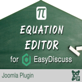 Equation Editor for EasyDiscuss