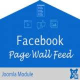 Responsive Facebook Page Wall Feed
