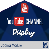 YouTube Channel Display