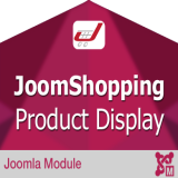 Product Showcase for Joomshopping