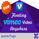 Floating Vimeo Video Anywhere