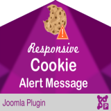 Responsive Cookie Alert Message Notice