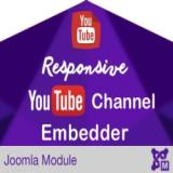 Responsive YouTube Channel Embedder