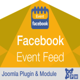 Responsive Facebook Page Events Feed - Plugin
