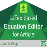 Equation Editor For Joomla Article
