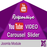 Responsive YouTube Video Carousel Slider