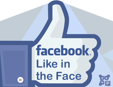Facebook Like in the Face Plugin