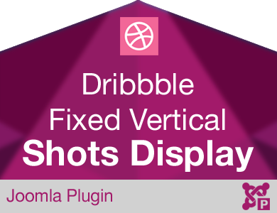 Dribbble Shots Display Fixed Vertical