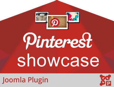 Pinterest Showcase Plugin for Joomla
