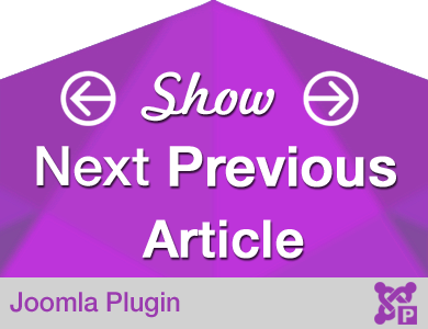 Show Next Previous Article - Joomla Plugin