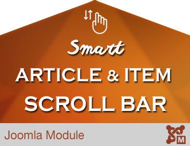 Smart Article & Items Scrollbar