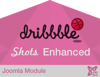 Dribbble Shots Enhanced