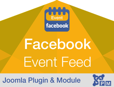 Facebook Event Feed /Stream for Joomla