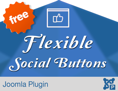 Flexible Social Button