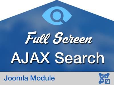 FullScreen AJAX Search