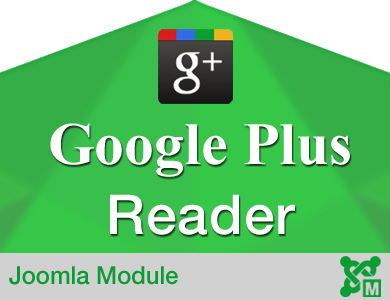 Google Plus Reader for Joomla