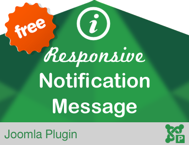 Responsive Notification Message