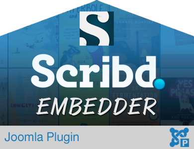 Scribd Book Embed Plugin for Joomla