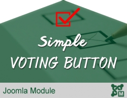 Simple Voting Button for Joomla