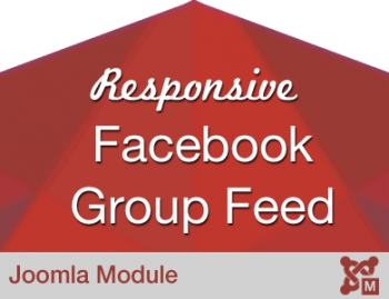Responsive Facebook Group Feed Stream for Joomla