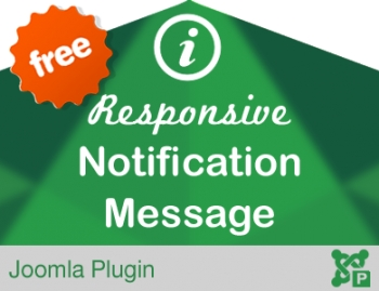 Responsive Notification Message Alert