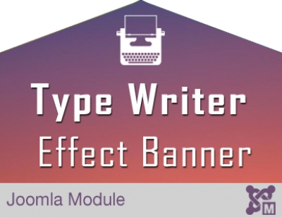 Type Writer Text Effect for Joomla