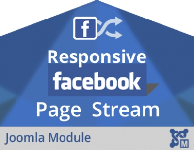 Responsive Facebook Page Stream