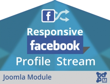 Responsive Facebook Profile Stream