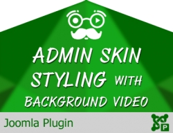Admin Skin Styling with Background Video