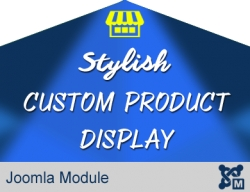Stylish Custom Product Display
