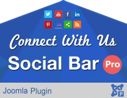 Shortcoded Connect Us Social Bar Pro