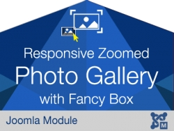 Responsive Zoomed Photo Gallery with Fancy Box Popup