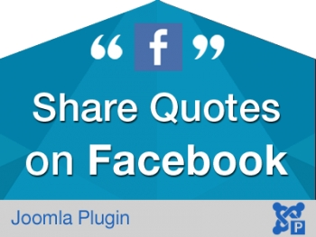 Share Quotes on Facebook for Joomla
