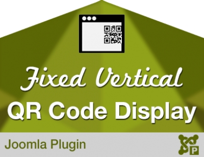 Fixed Vertical QR Code Display