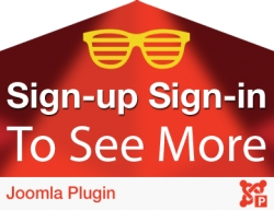 Sign-up Sign-in to See More Plugin for Joomla