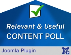 Relevant & Useful Content Poll