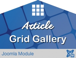 Article Grid Gallery for Joomla