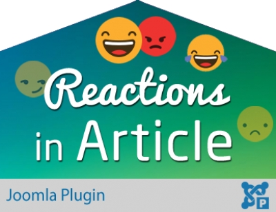 Reaction in Article for Joomla